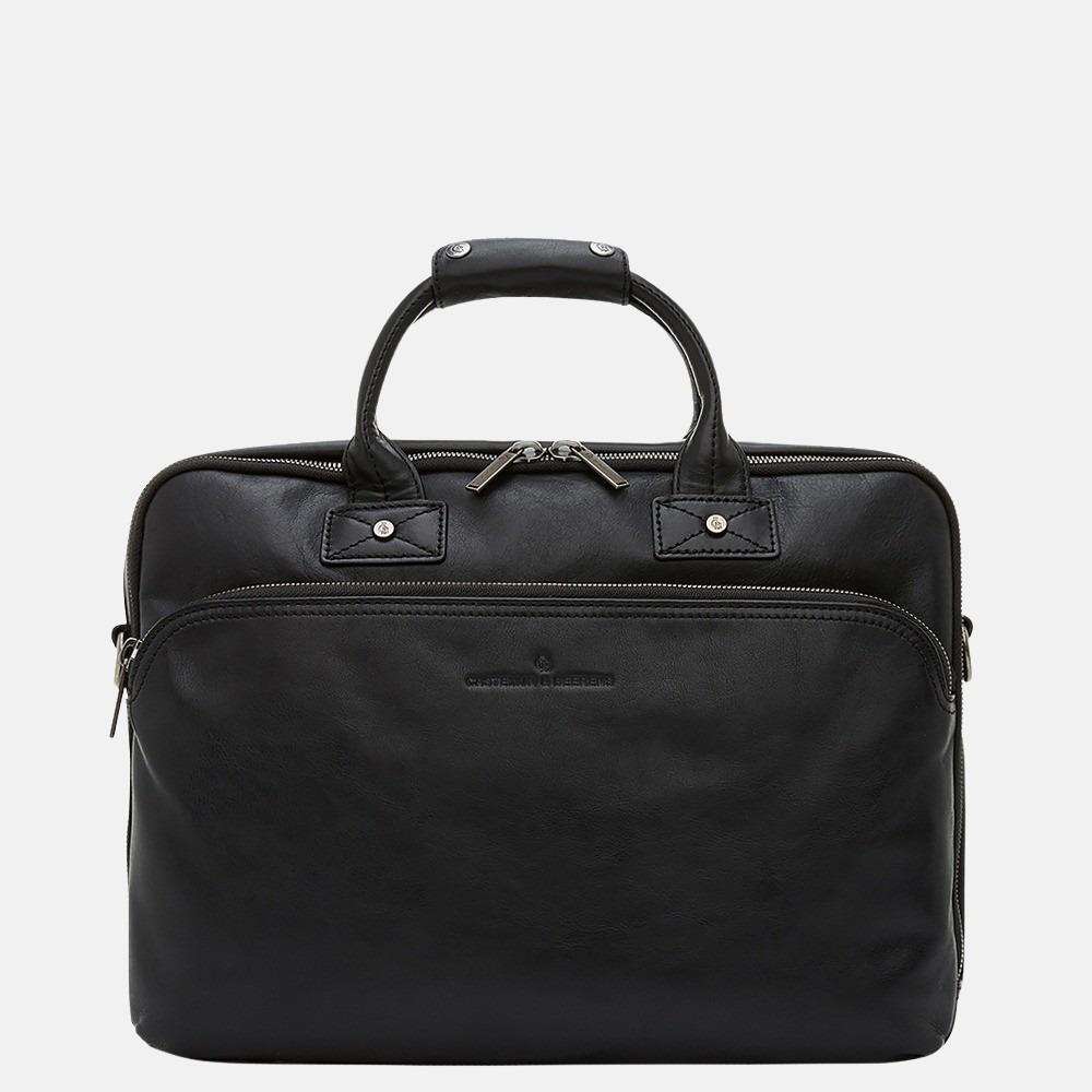 Castelijn & Beerens Firenze laptoptas 15.6 inch zwart