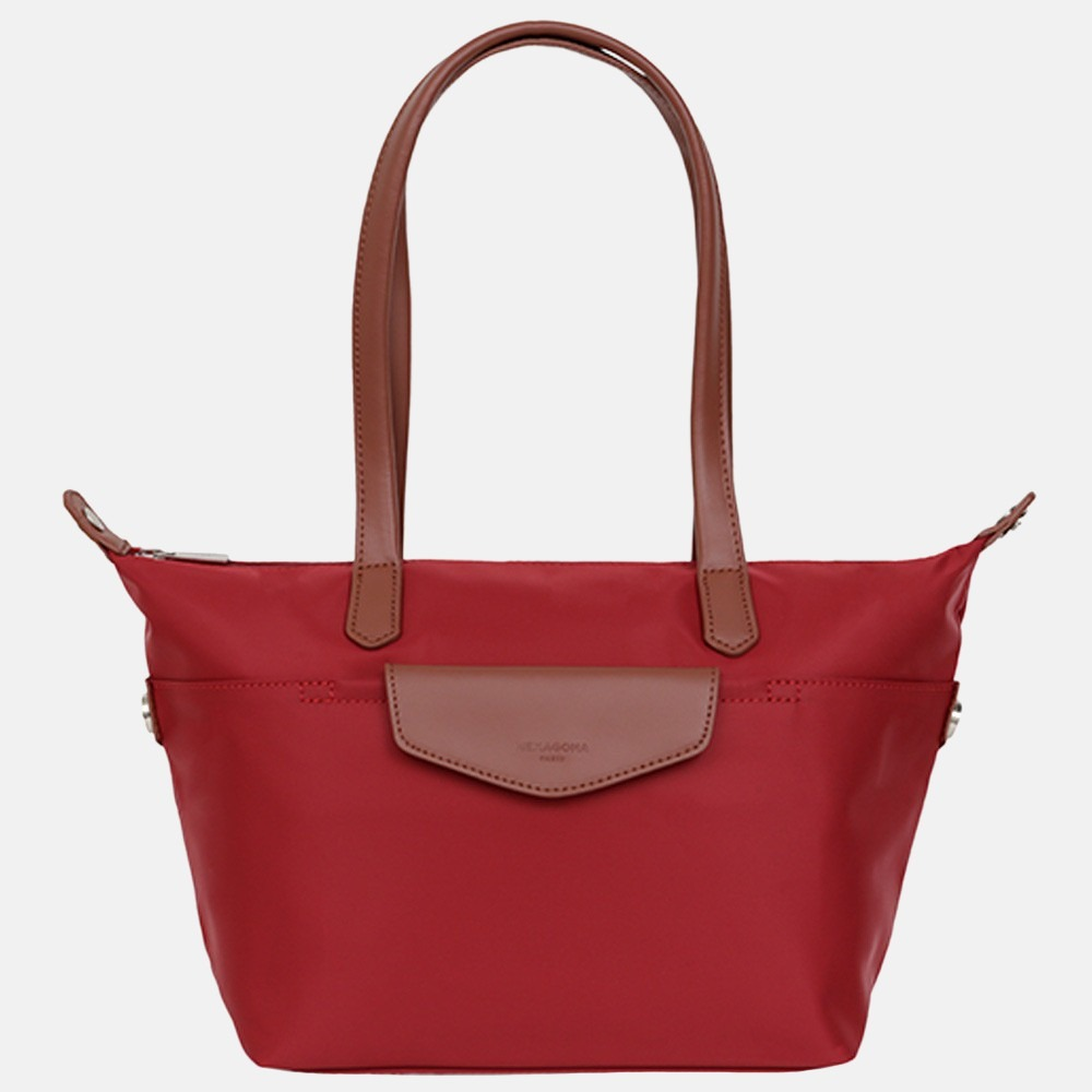 Hexagona shopper S red