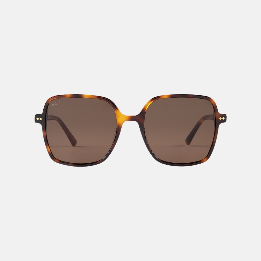 Kapten & Son Toulouse zonnebril tortoise brown