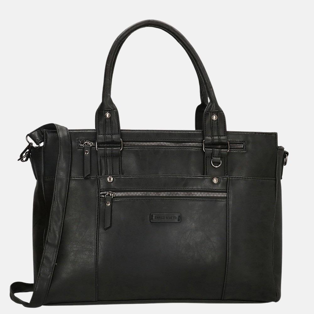 Enrico Benetti Nikki shopper 14 inch black