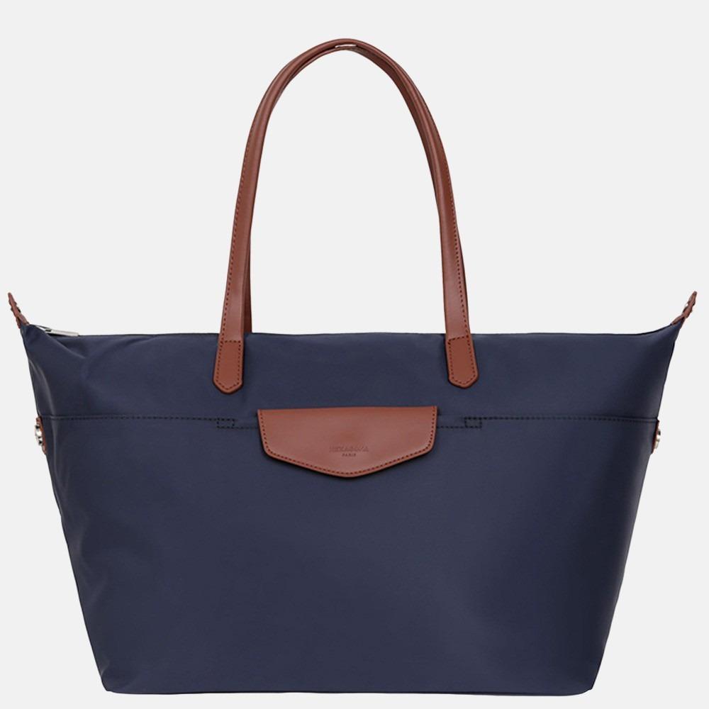 Hexagona weekendtas/shopper L navy blue