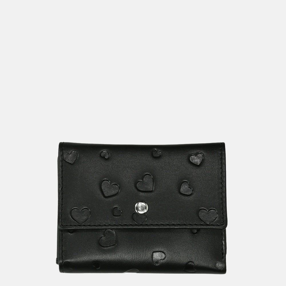 LouLou Essentiels Heartbreaker portemonnee SLB XS black