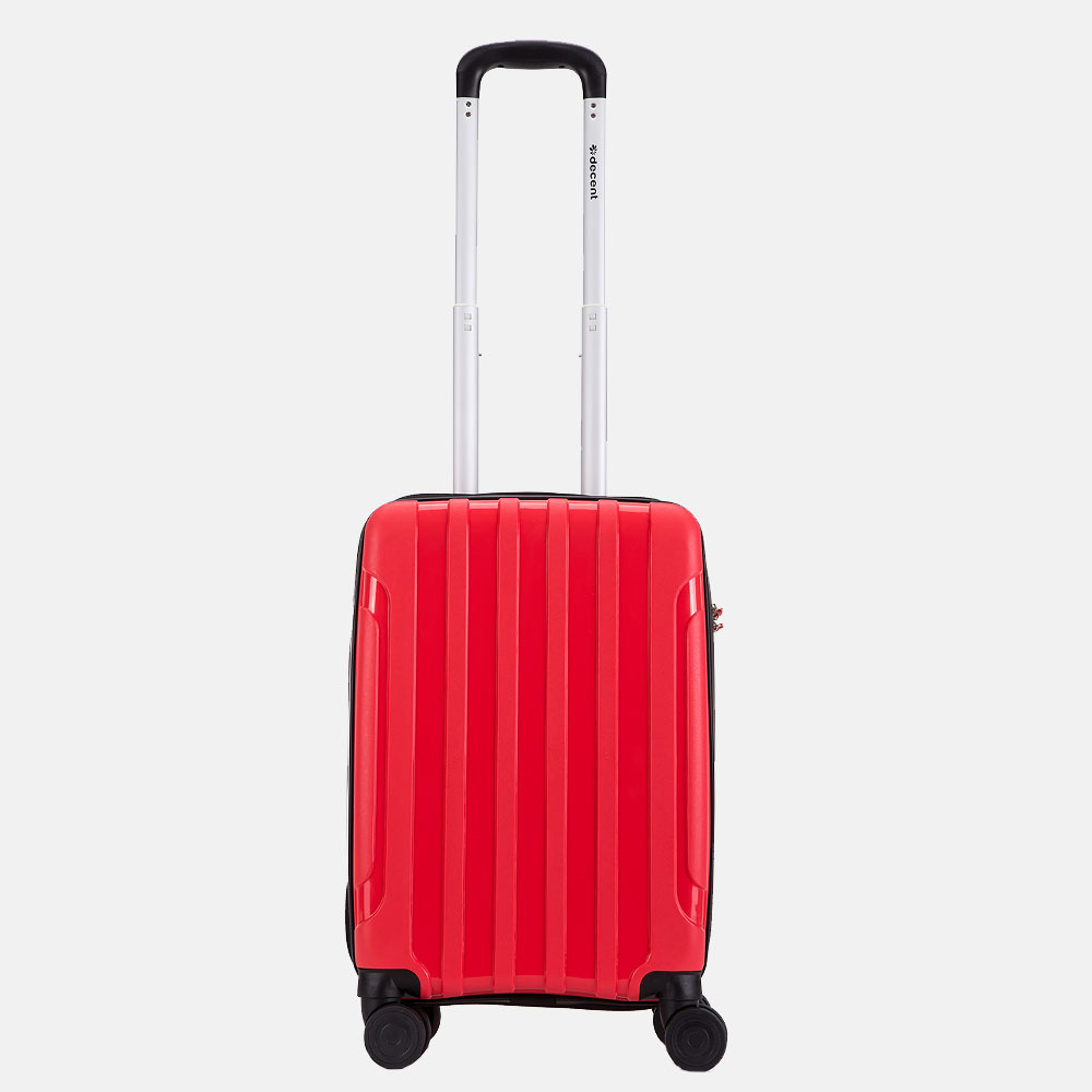 Decent X-Motion koffer 55 cm rood