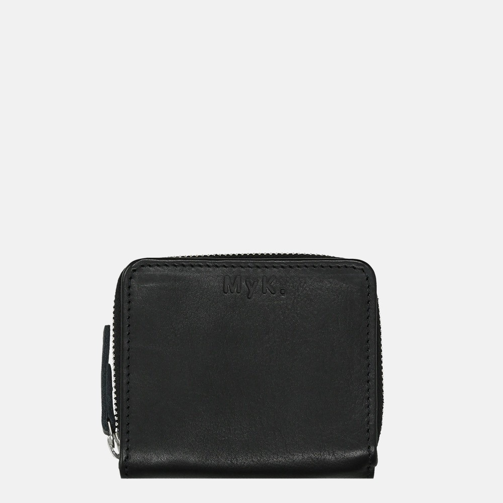 MyK Wallet Sparkle portemonnee S black