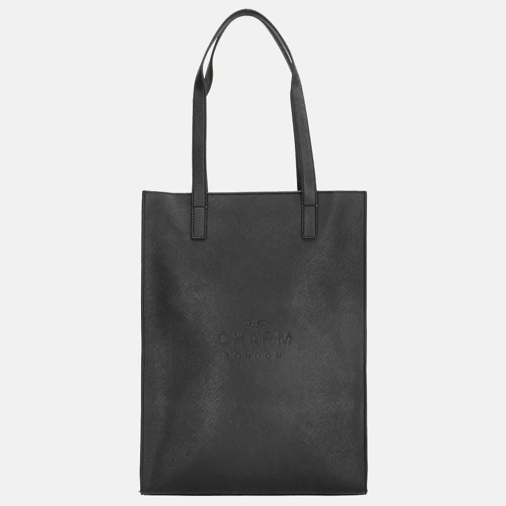 Charm London shopper black