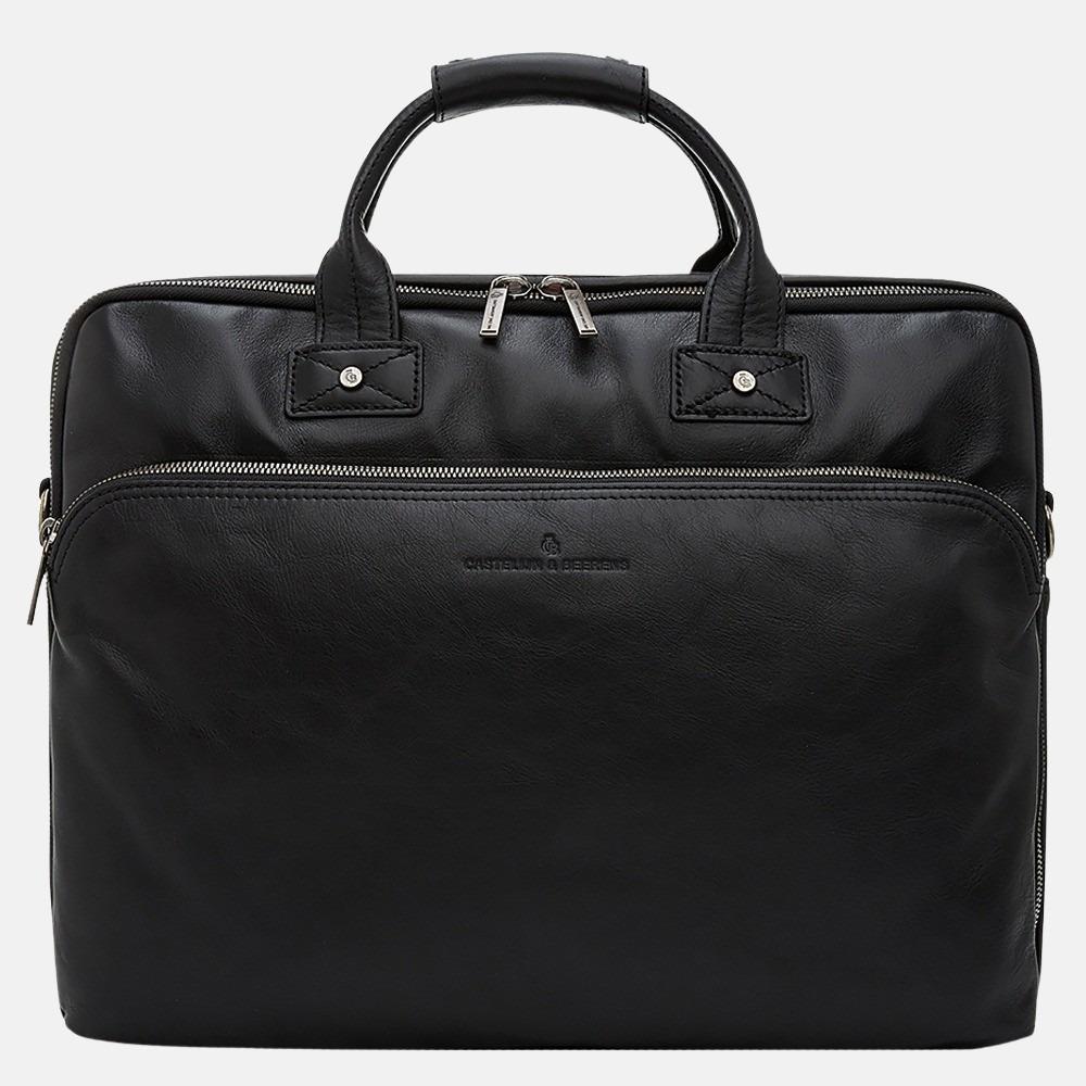 Castelijn & Beerens Firenze laptoptas 17 inch zwart