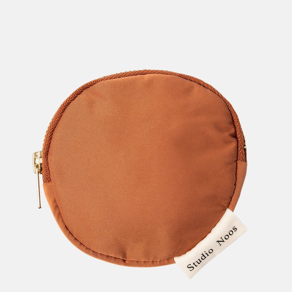 Studio Noos Puffy Wallet portemonnee rust
