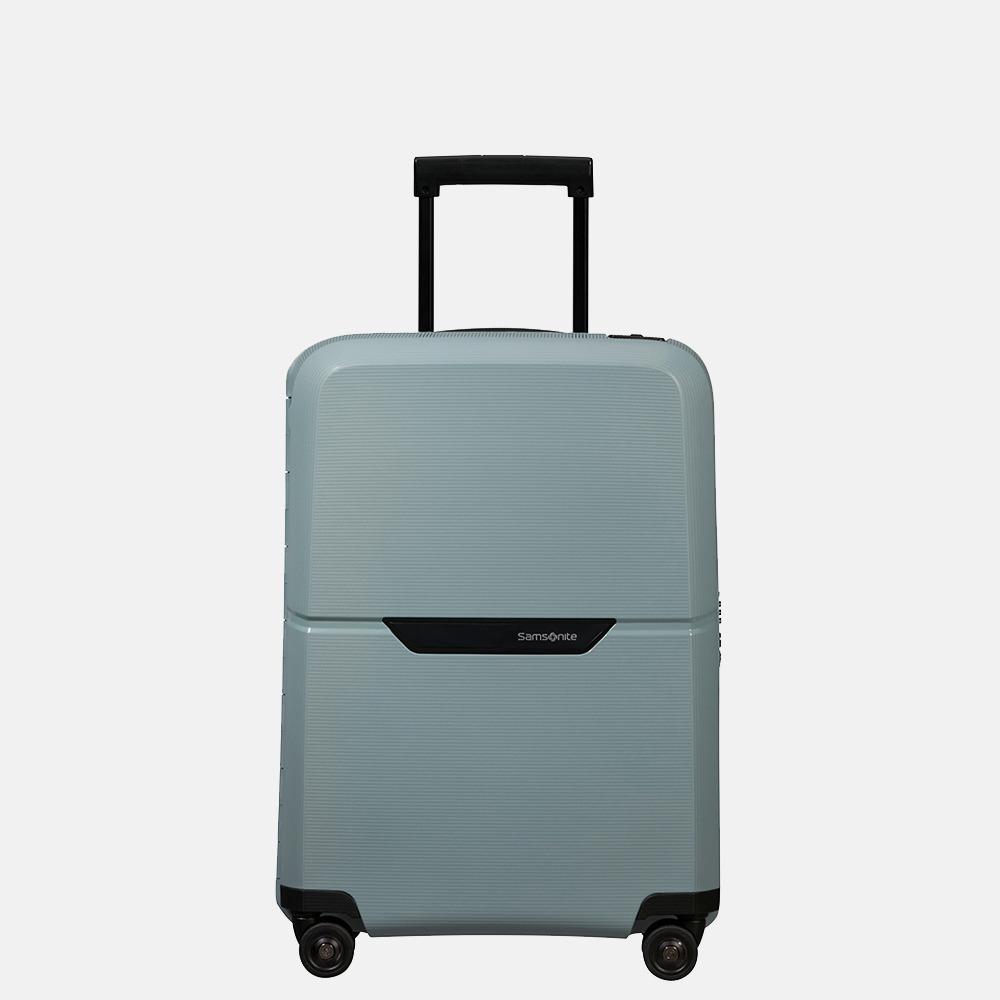 Samsonite Magnum ECO spinner koffer 55 cm ice blue