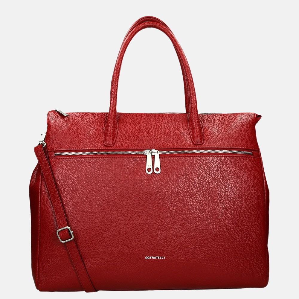 GiGi Fratelli Romance Business laptoptas 15.6 inch red
