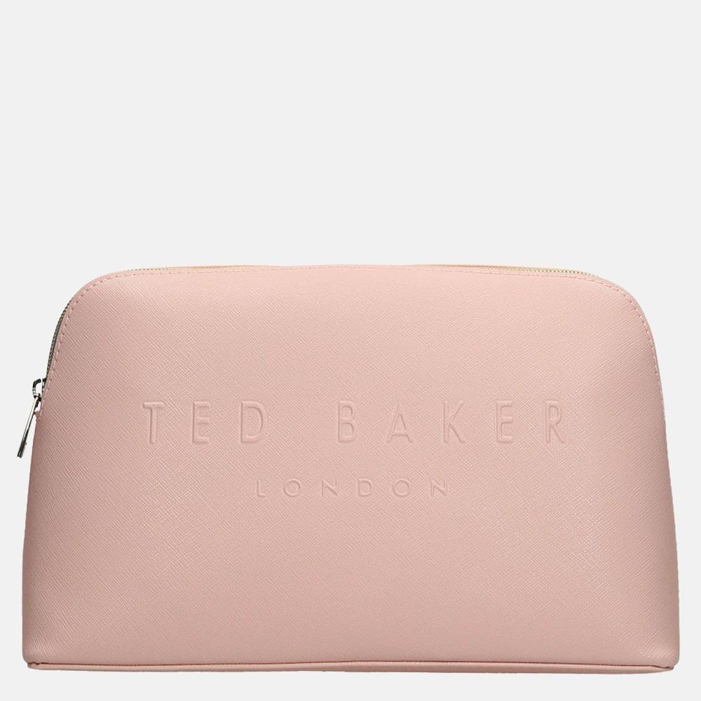 Ted Baker Lottiey make-up tas M dusky pink