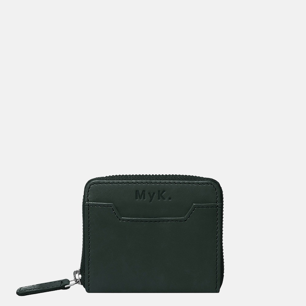 MyK Purse Dawn portemonnee esmarald green