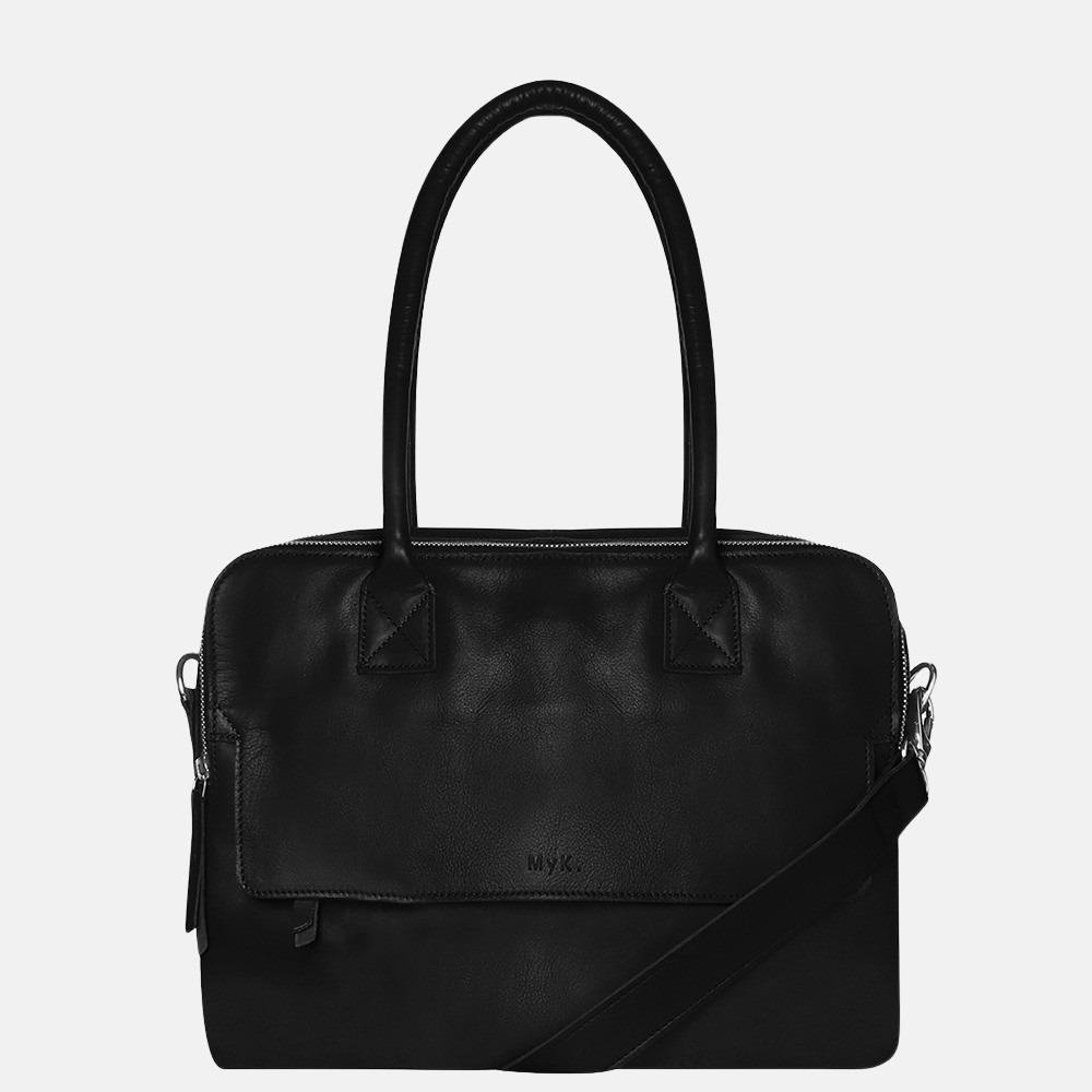 MyK Bag Focus laptoptas 13 inch black