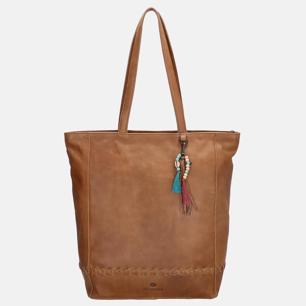 Micmacbags Friendship shopper brown
