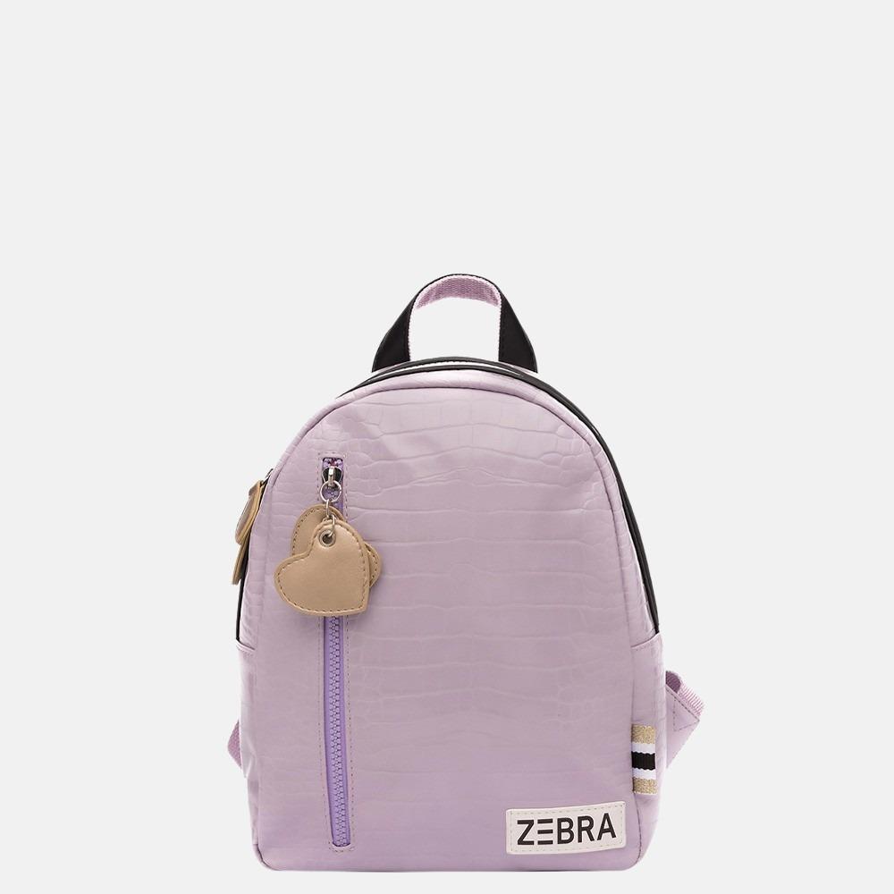 Zebra Trends kinderrugzak croco purple
