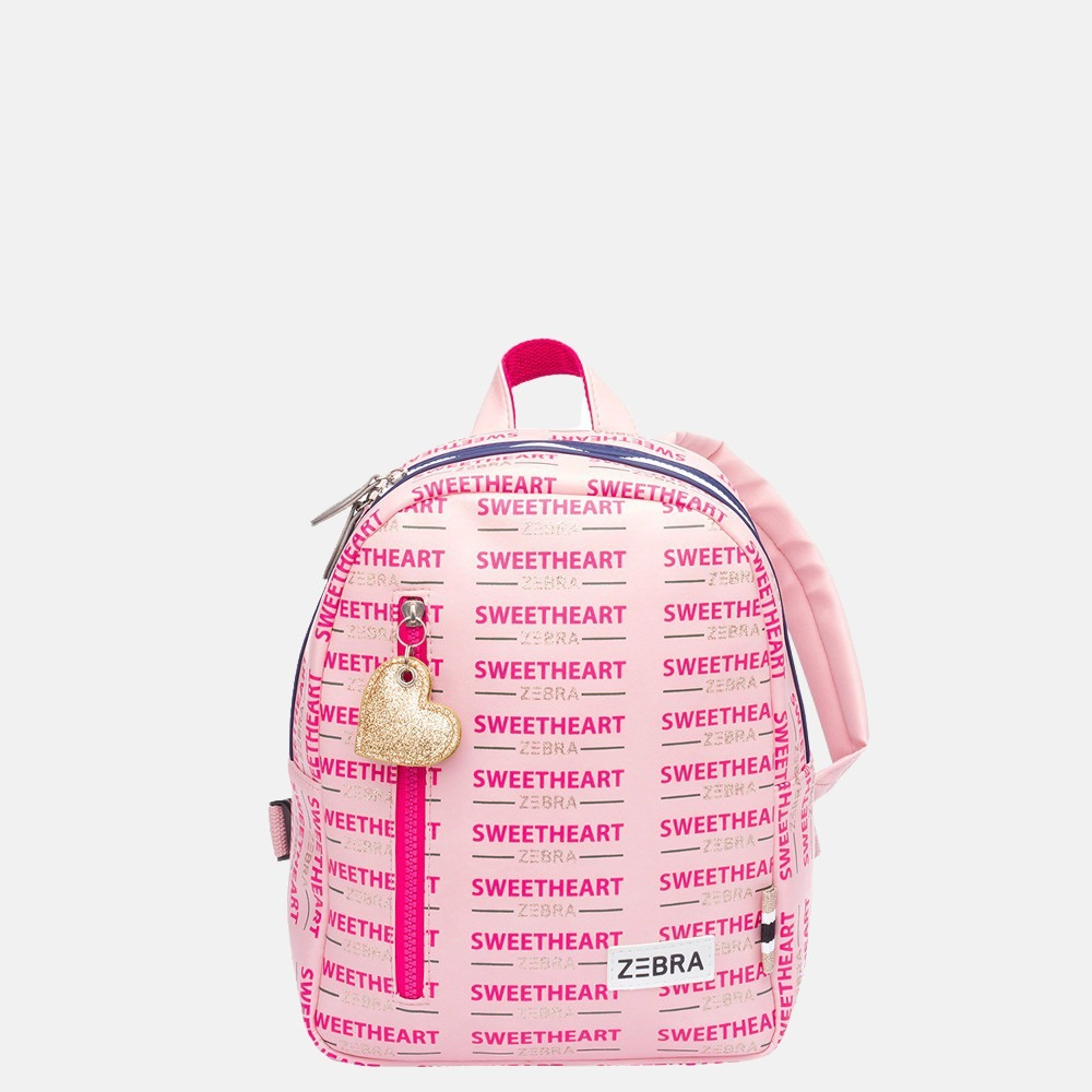 Zebra Trends kinderrugzak S sweetheart pink
