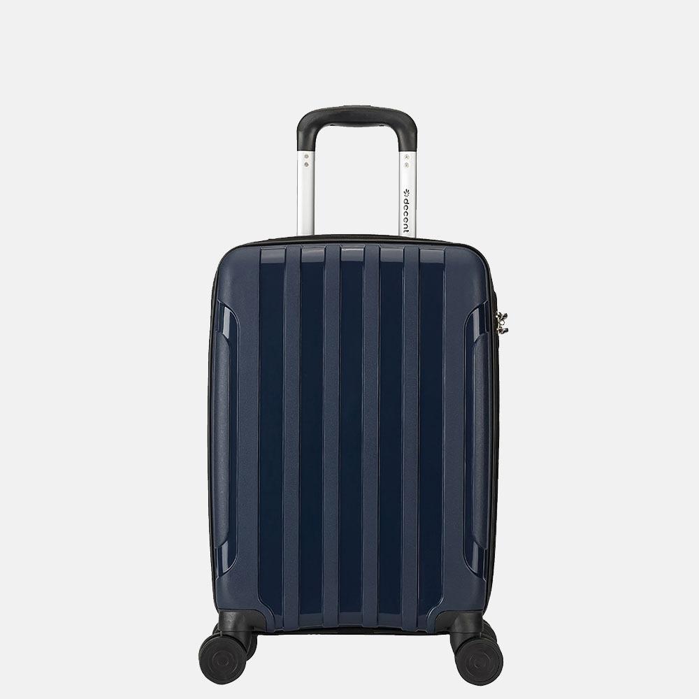 Decent X-Motion koffer 55 cm navy blauw