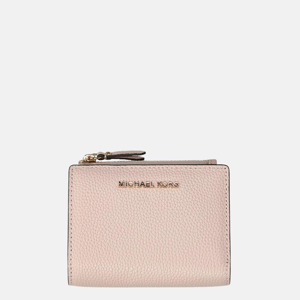 Michael Kors Jet Set Snap portemonnee soft pink