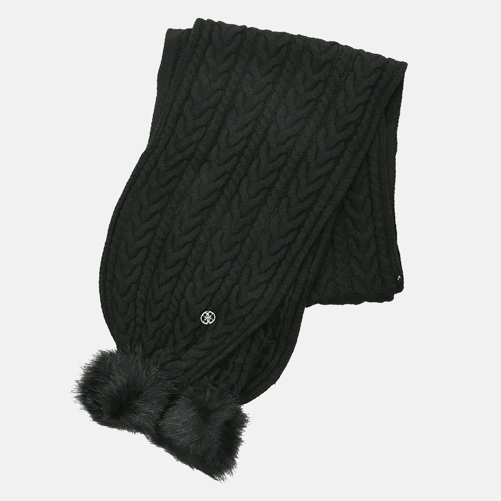 Guess sjaal black