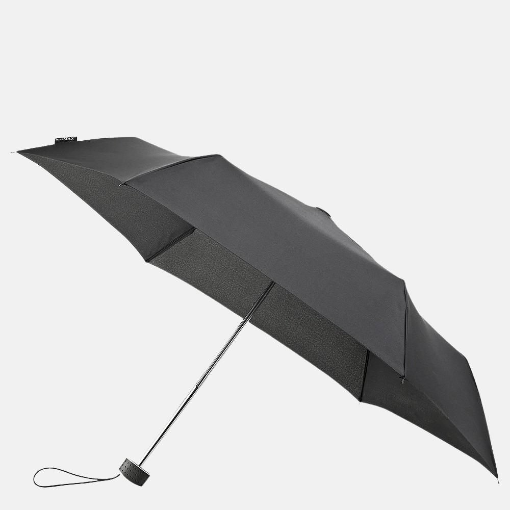Impliva opvouwbare paraplu basic black