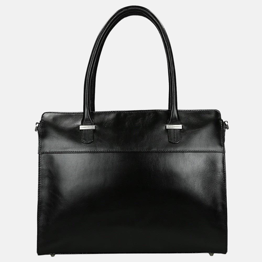 Claudio Ferrici Classico shopper 13.3 inch black
