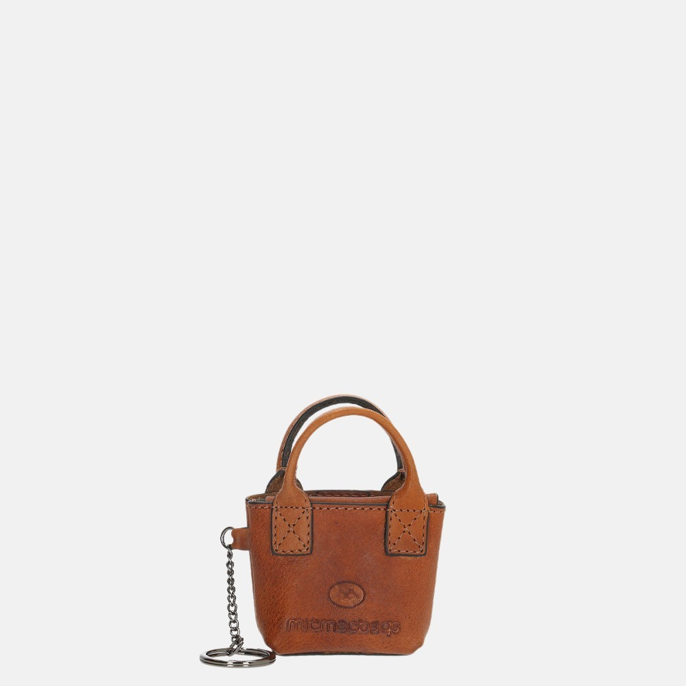 Micmacbags Discover sleutelhanger brown