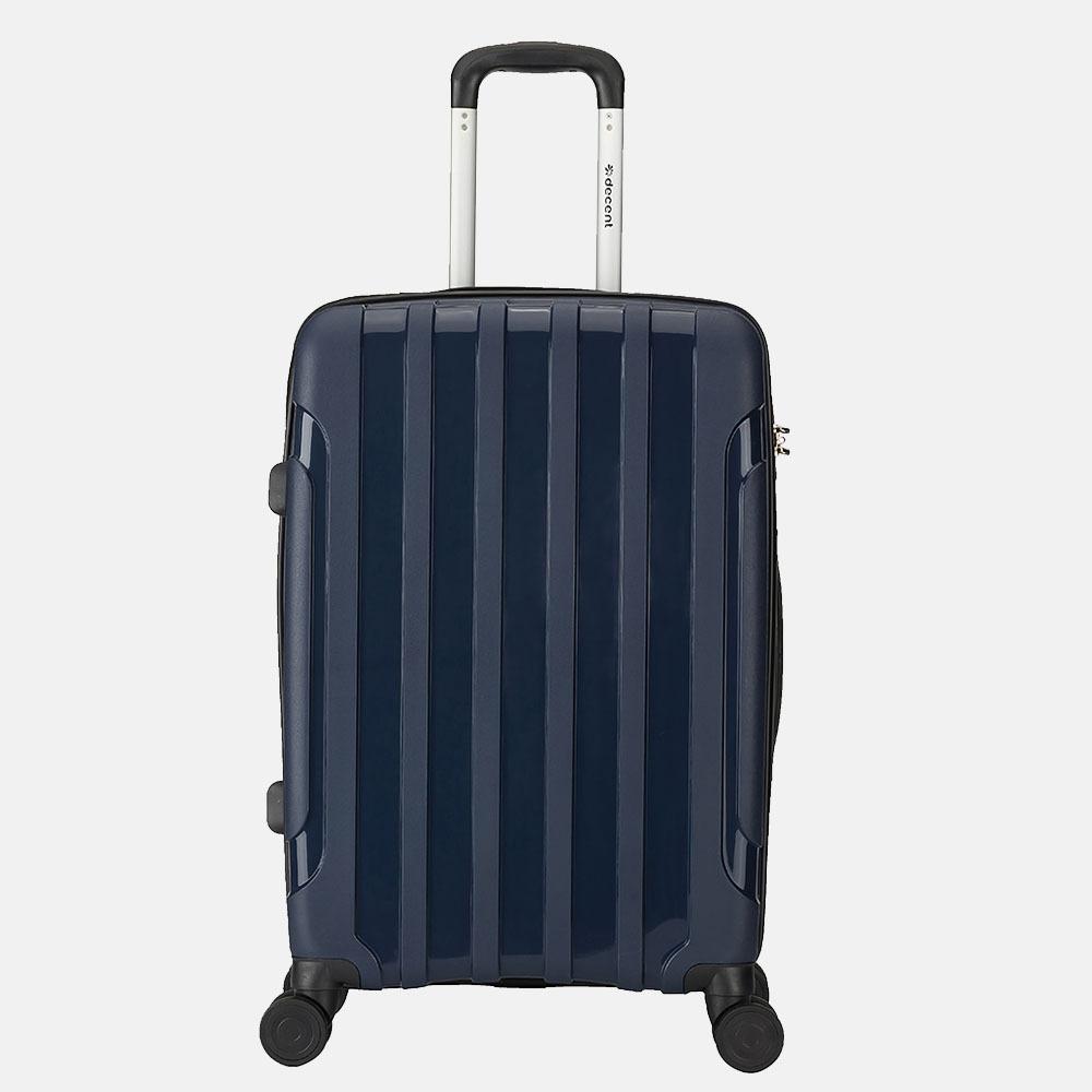 Decent X-Motion koffer 67 cm navy blauw