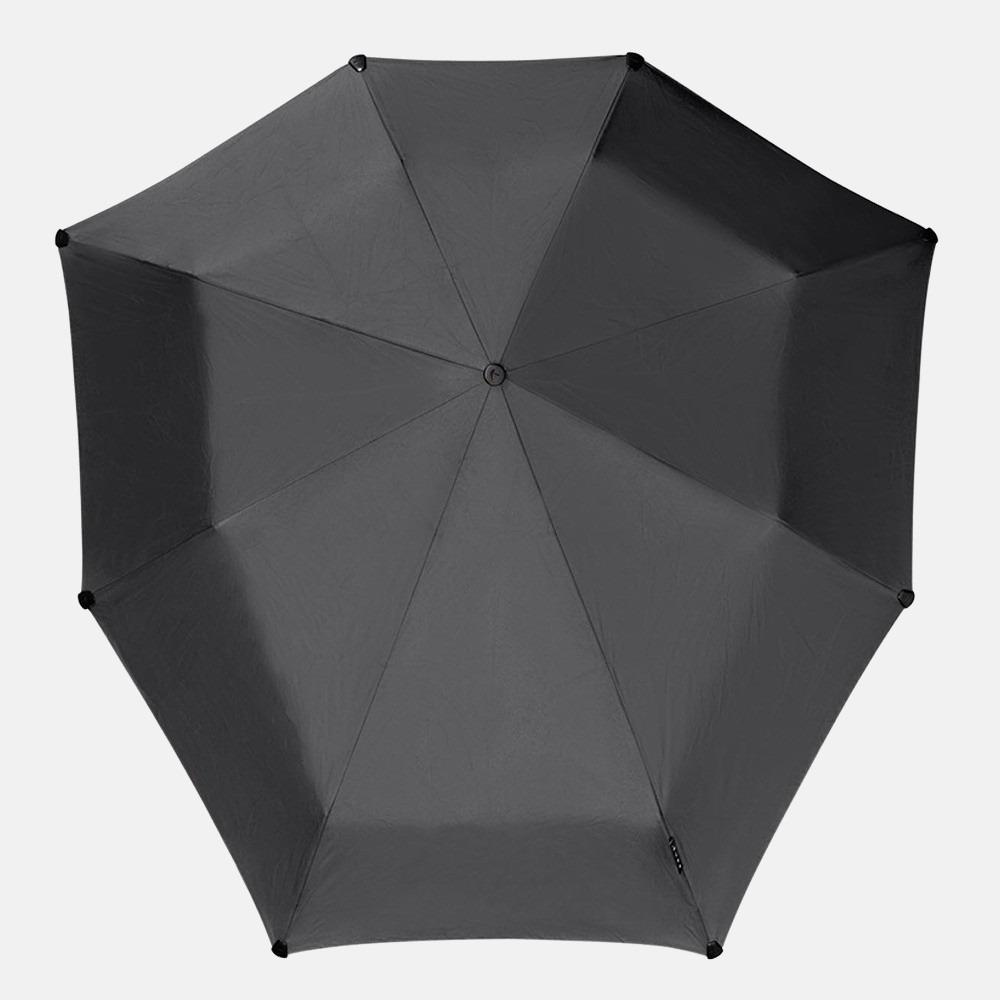 Senz Mini Automatic paraplu pure black