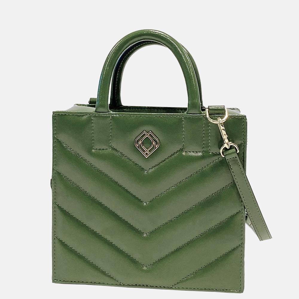 Trashious Boxbag handtas cactusleer groen