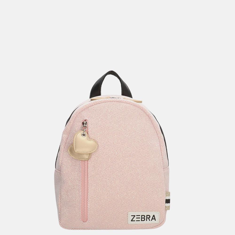 Zebra Trends kinderrugzak S sparkle pink