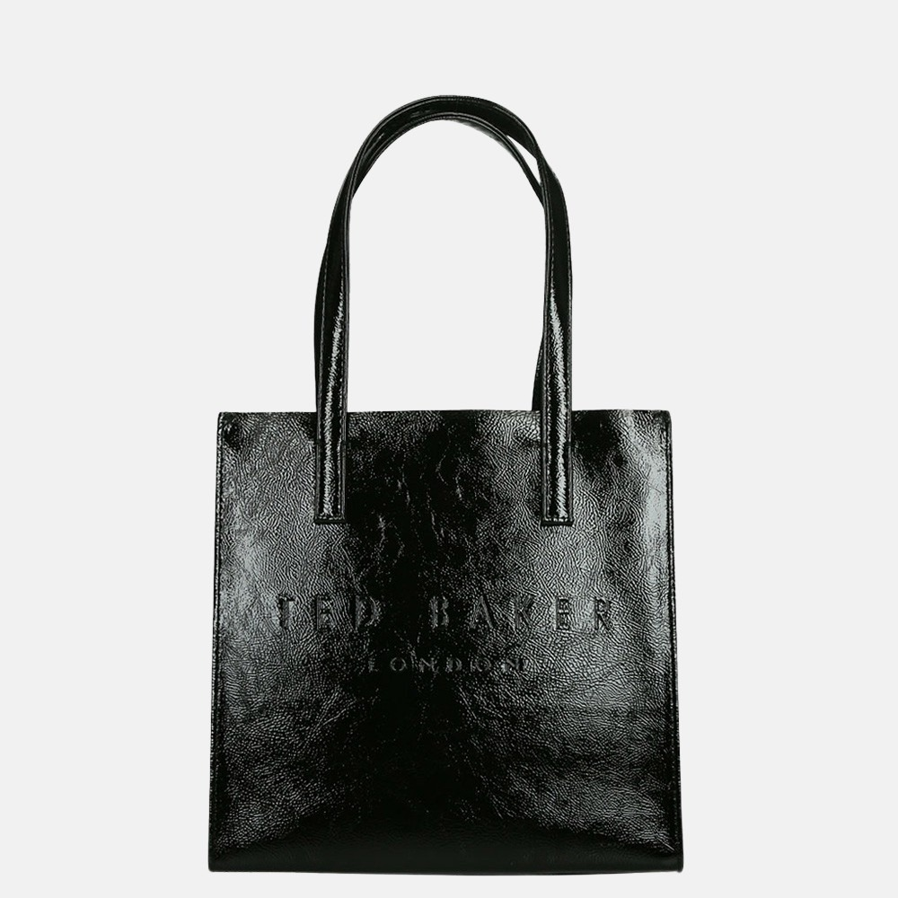 Ted Baker Alicon shopper S shiny black