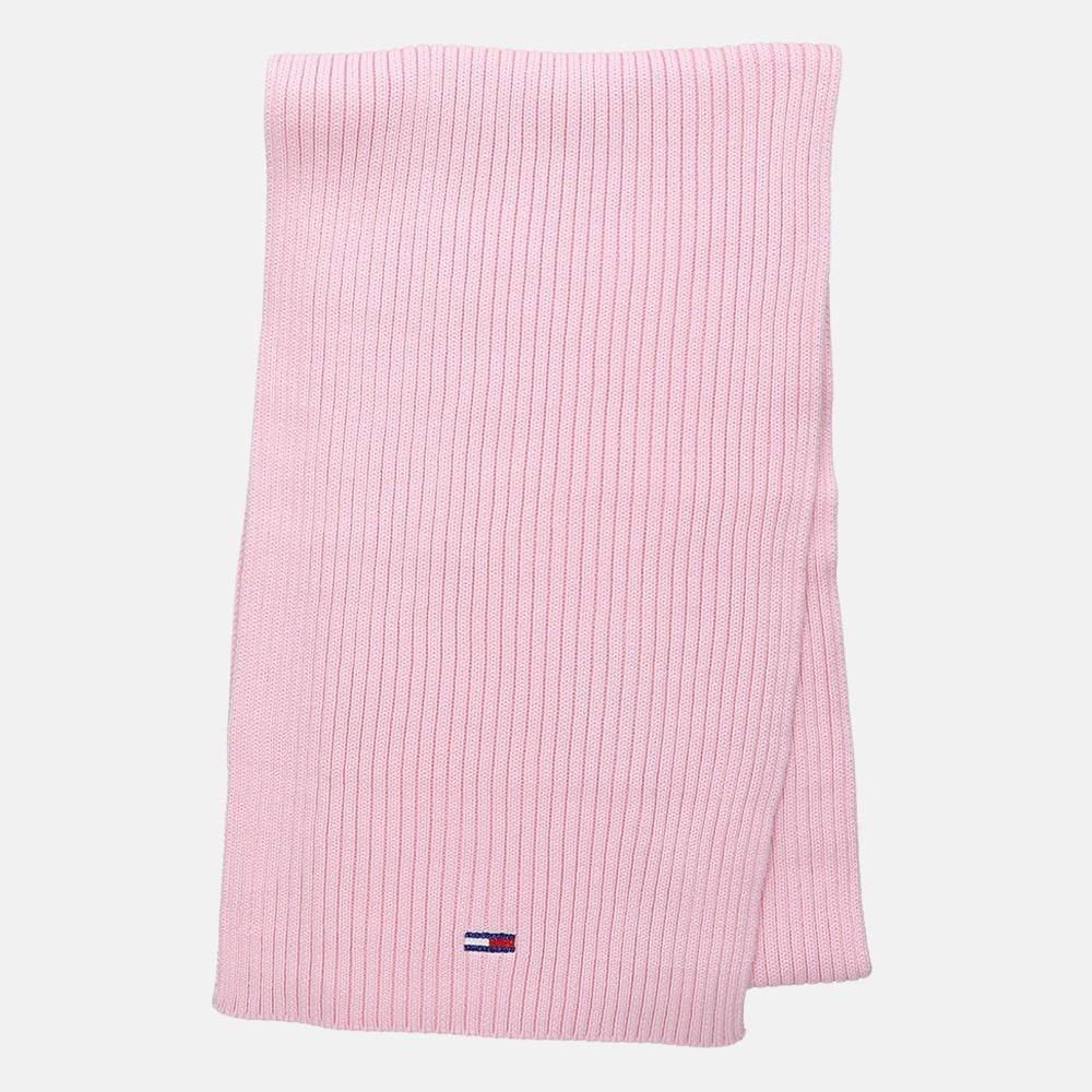 Tommy Hilfiger Basic rib sjaal romantic pink