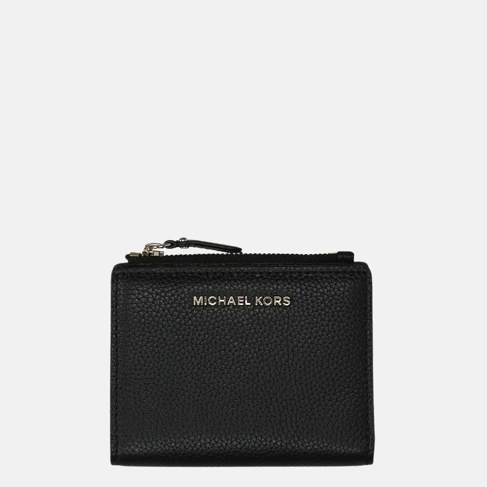 Michael Kors Jet Set Snap portemonnee black
