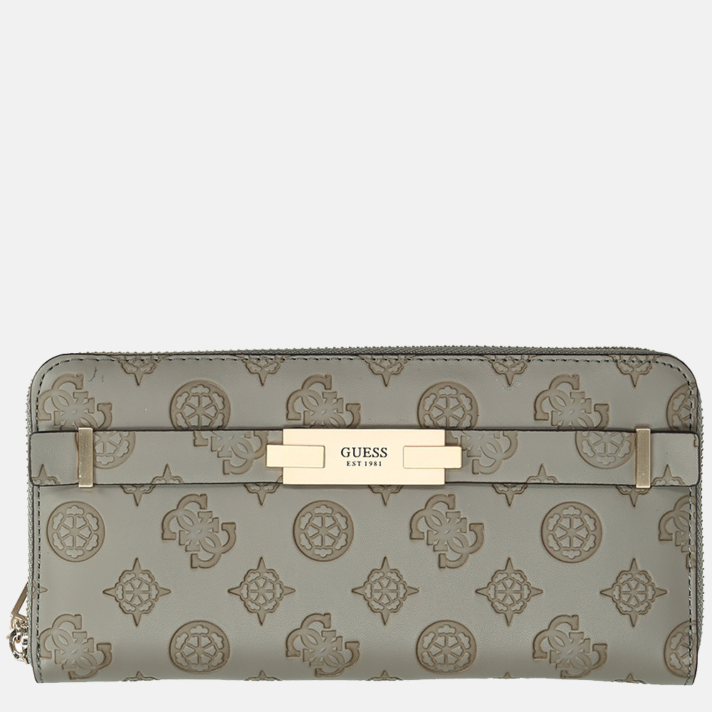Guess Bea SLG portemonnee L taupe