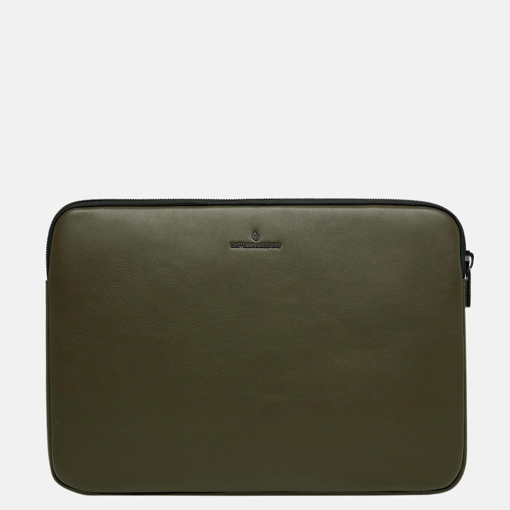 Castelijn & Beerens Mike laptophoes 15.4 inch dark militairy