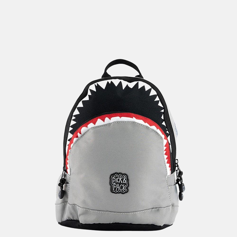 Pick & Pack Shark kinderrugzak S grey