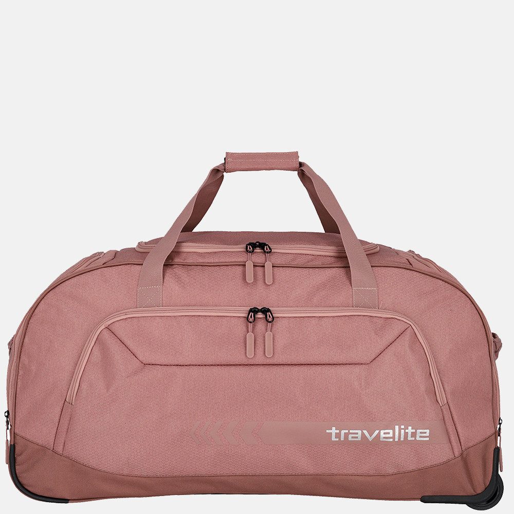 Travelite Kick Off Duffle wieltas XL rose