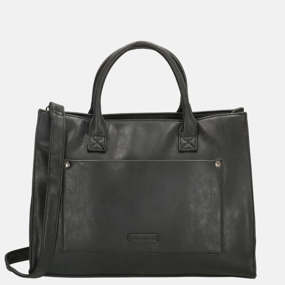 Enrico Benetti Bobbi shopper 14 inch black