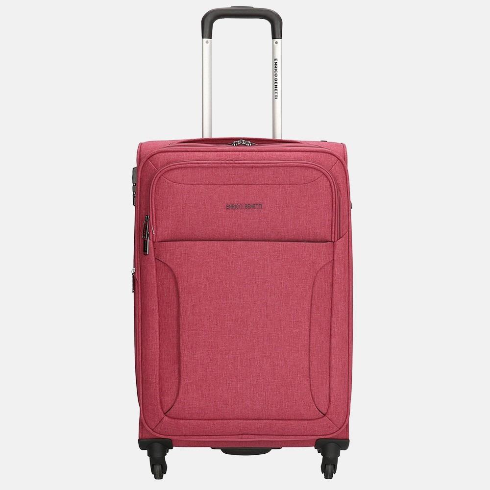 Enrico Benetti Chicago koffer 65 cm pink