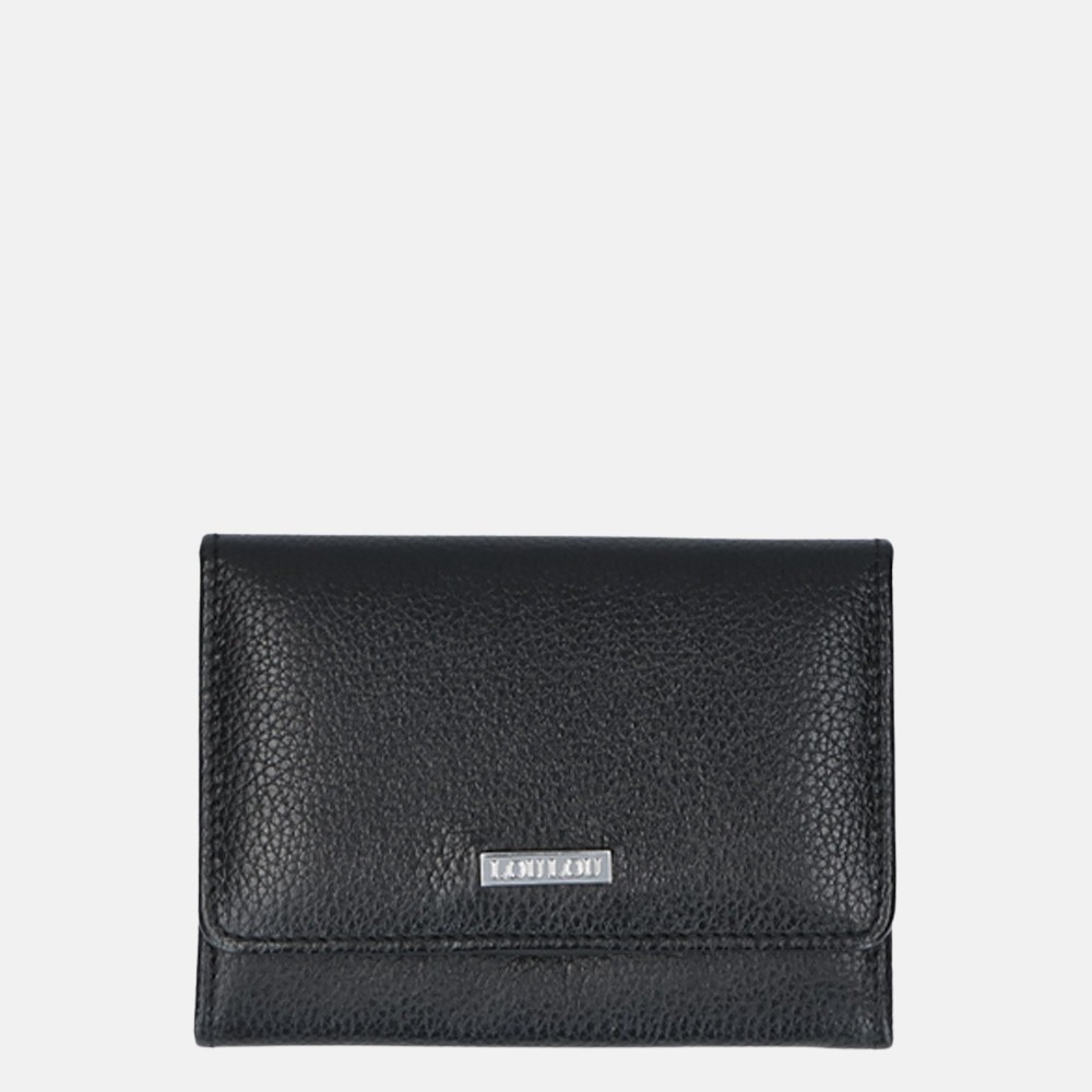 LouLou Essentiels Beau Veau SLB XS portemonnee black