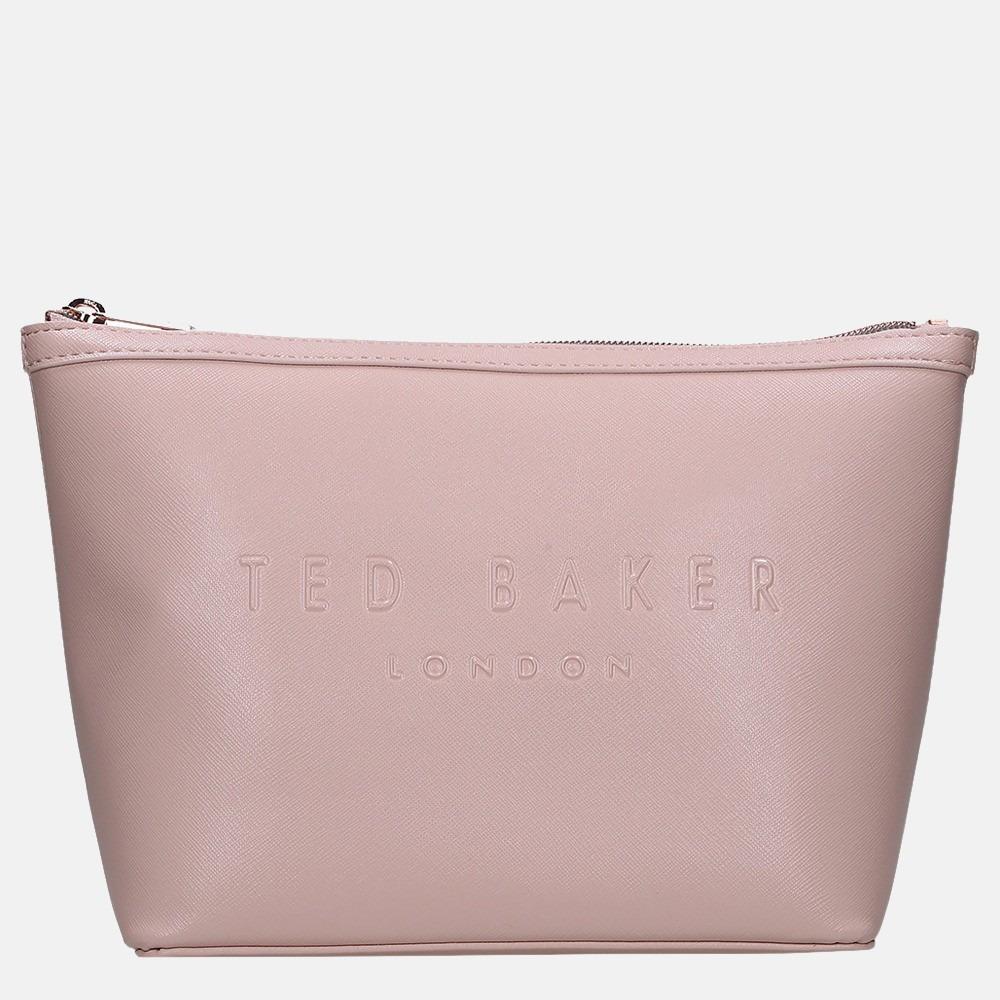 Ted Baker Nance make-up tas M dusky pink