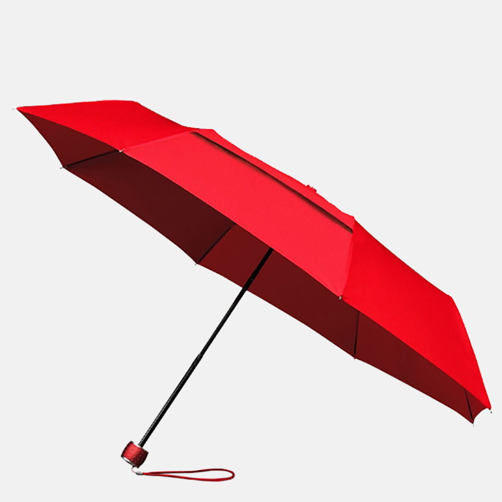 Impliva ECO miniMAX opvouwbare paraplu red
