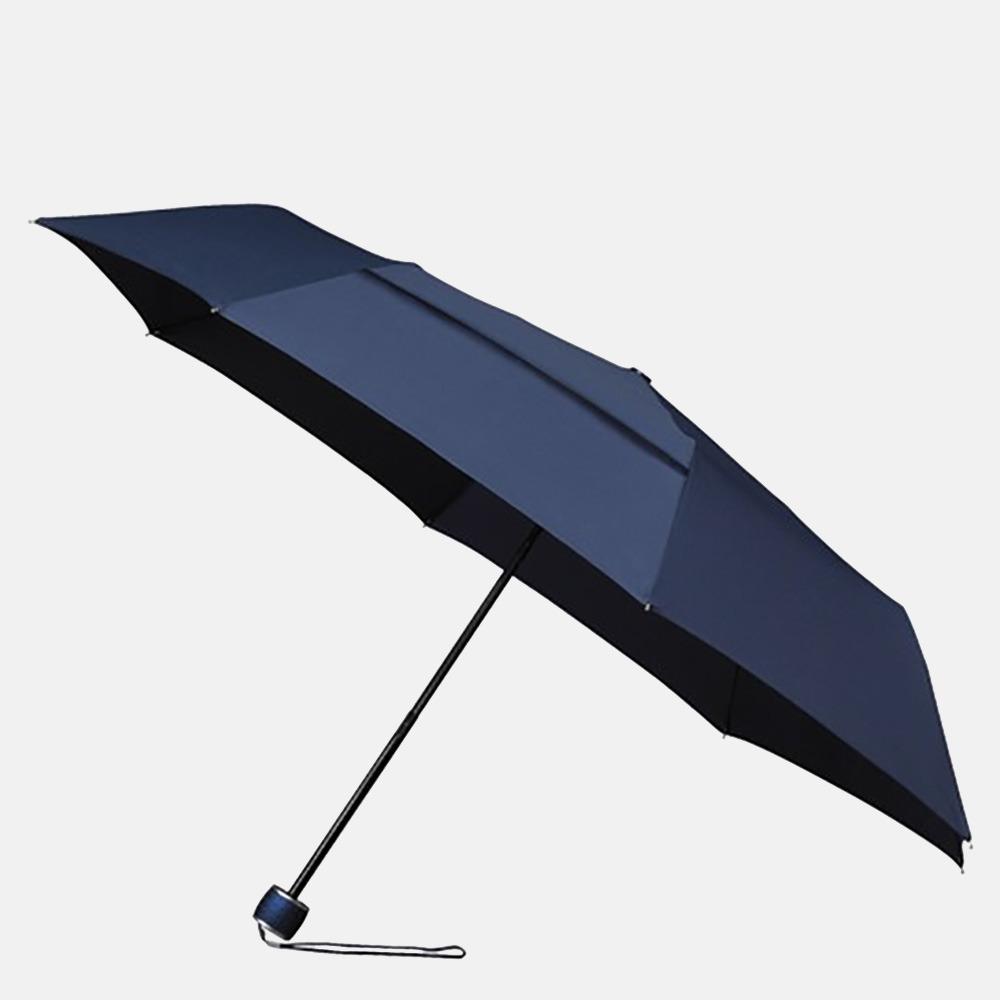 Impliva ECO miniMAX opvouwbare paraplu dark blue