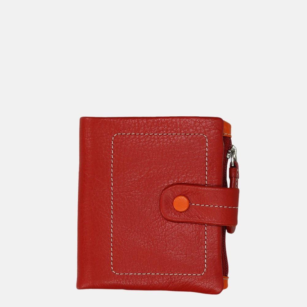 Visconti portemonnee red multi
