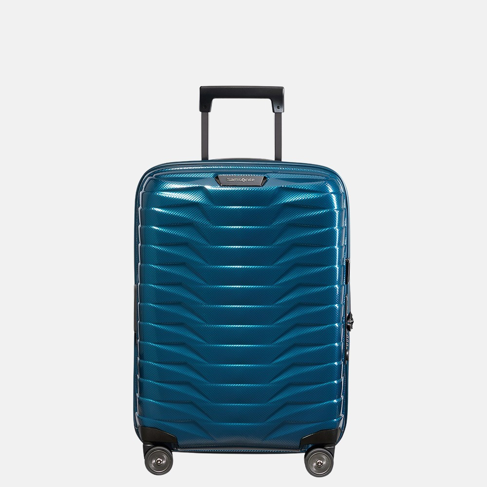 Samsonite Proxis handbagage spinner 55 cm petrol blue