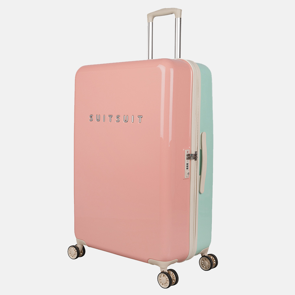 SUITSUIT Fabulous Fifties koffer 76 cm DUO mint & peach