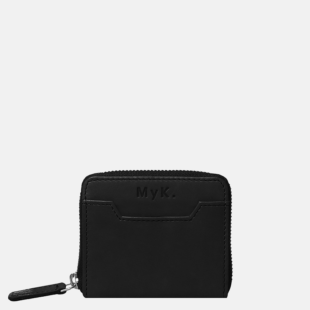 MyK Purse Dawn portemonnee black