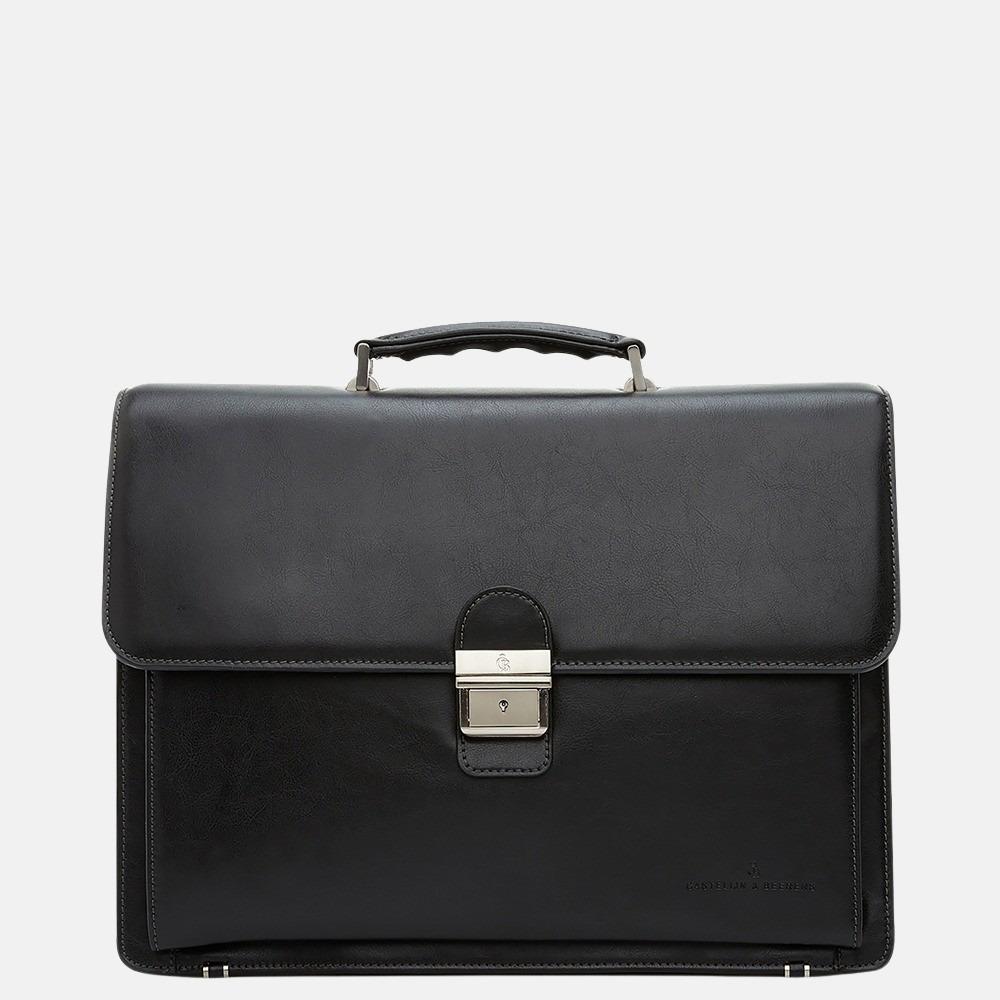Castelijn & Beerens Realta aktetas 15.4 inch zwart