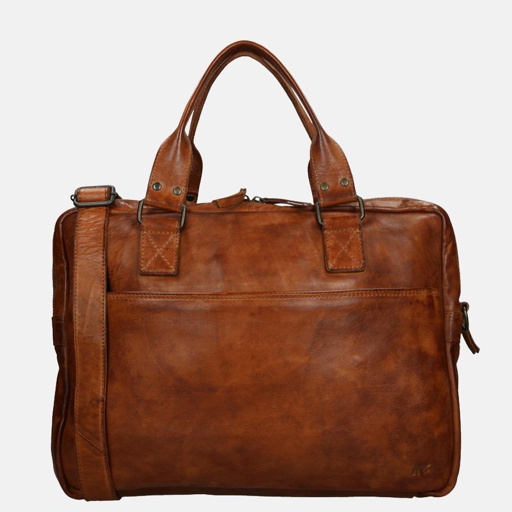 Bear Design Leandro laptoptas 15.4 inch cognac