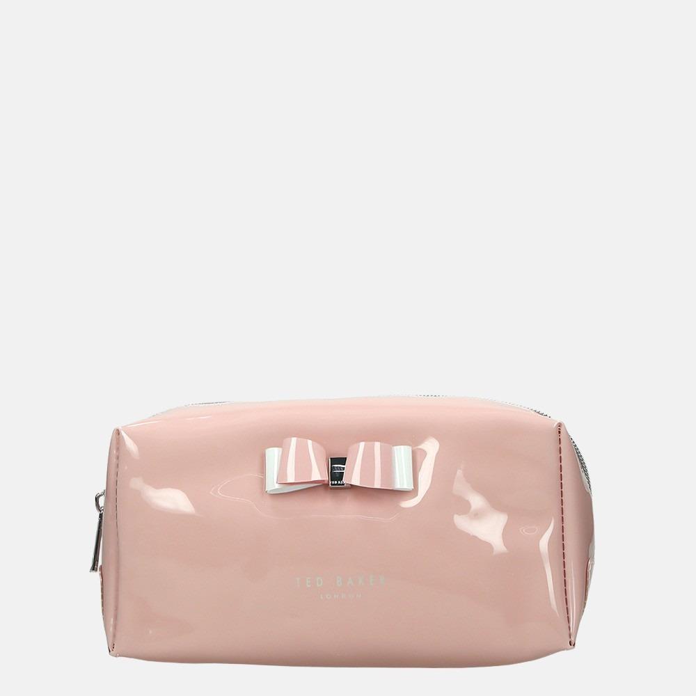 Ted Baker Halsey make-up tas dusky pink