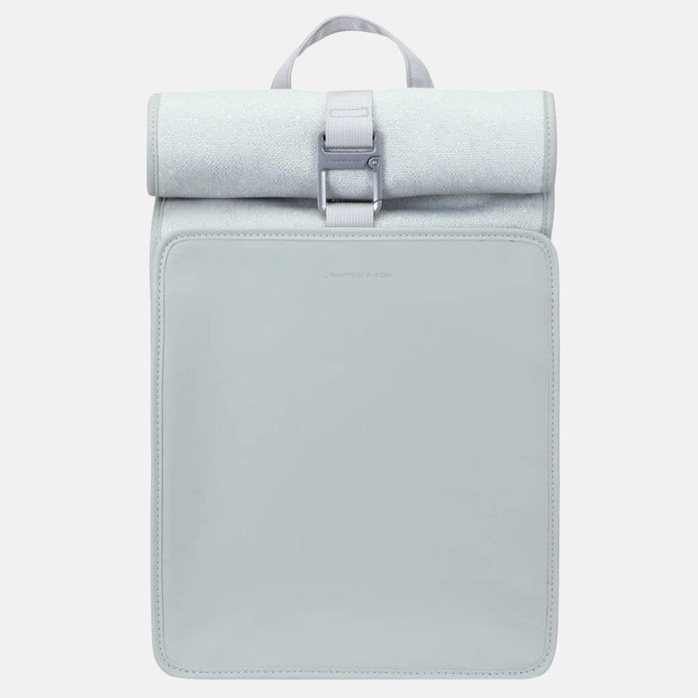Kapten & Son Lund Pro rugzak 16 inch mint grey